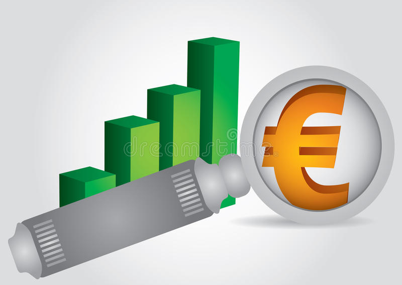 Download Euro sign stock vector. Image of investment, currency - 24918220