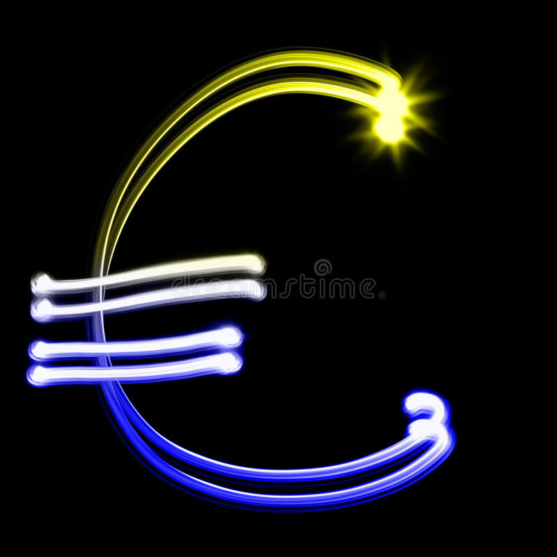 Download Euro sign stock illustration. Image of design, drawing - 29501692