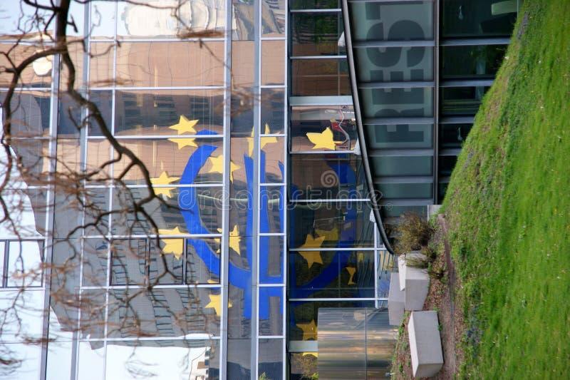 Download Euro Sign reflected editorial image. Image of bank, main - 31031845