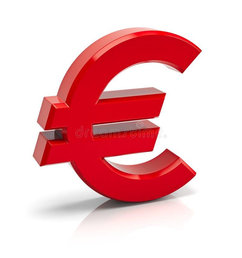 Euro signe illustration libre de droits