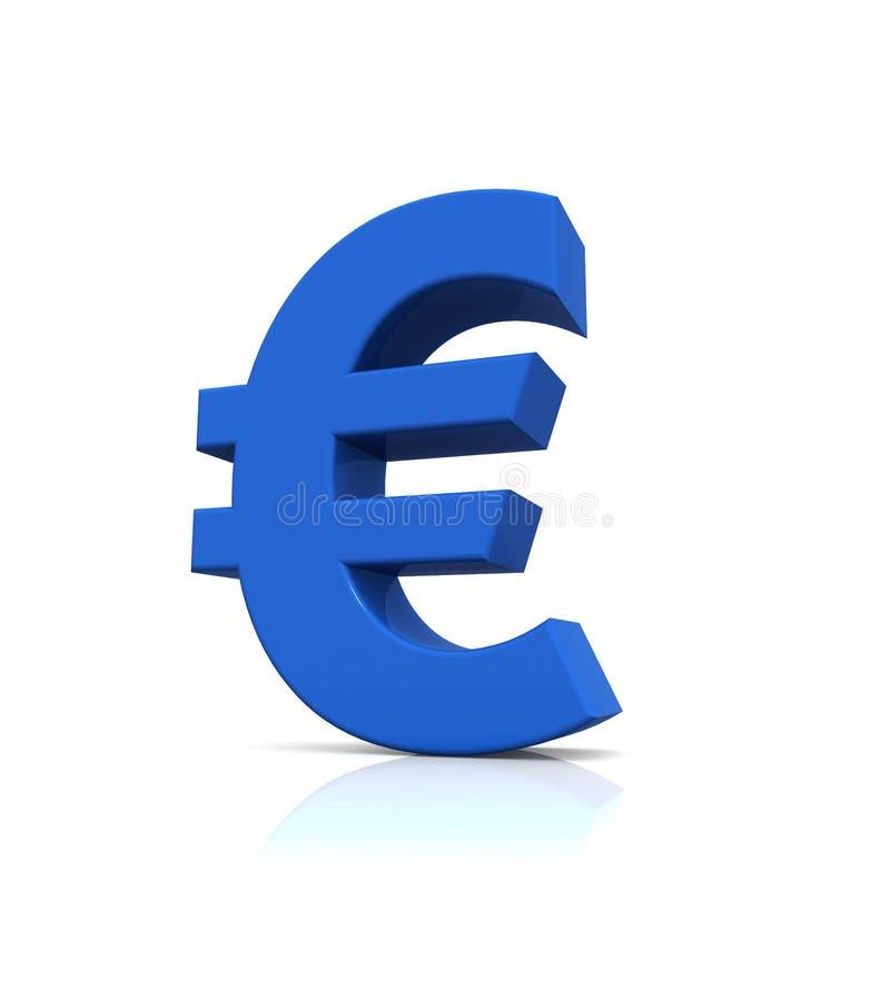 Euro- sinal foto de stock royalty free