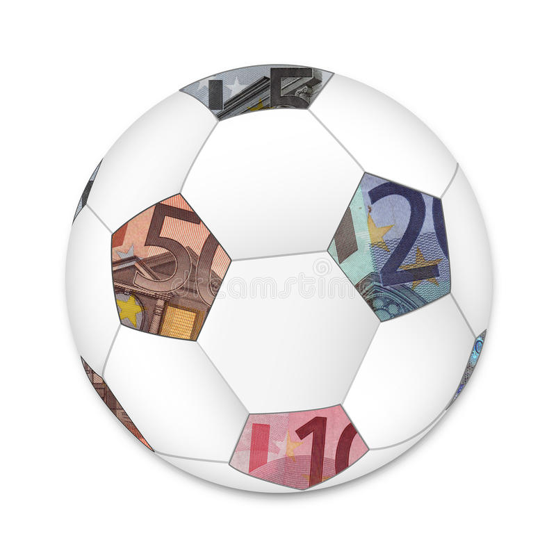 Euro Soccer ball stock images
