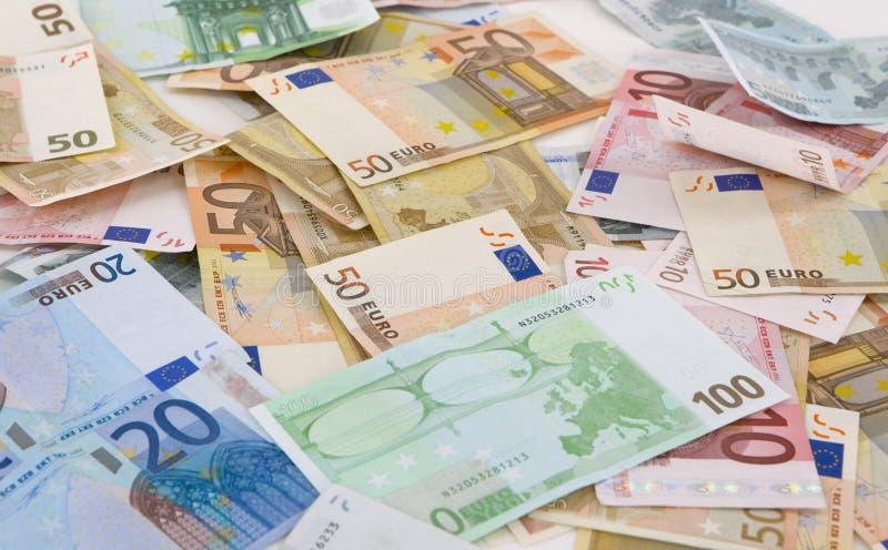 Euro soldi immagini stock