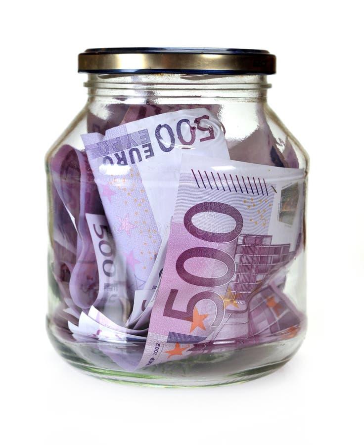 Euro soldi in Bootle fotografia stock libera da diritti