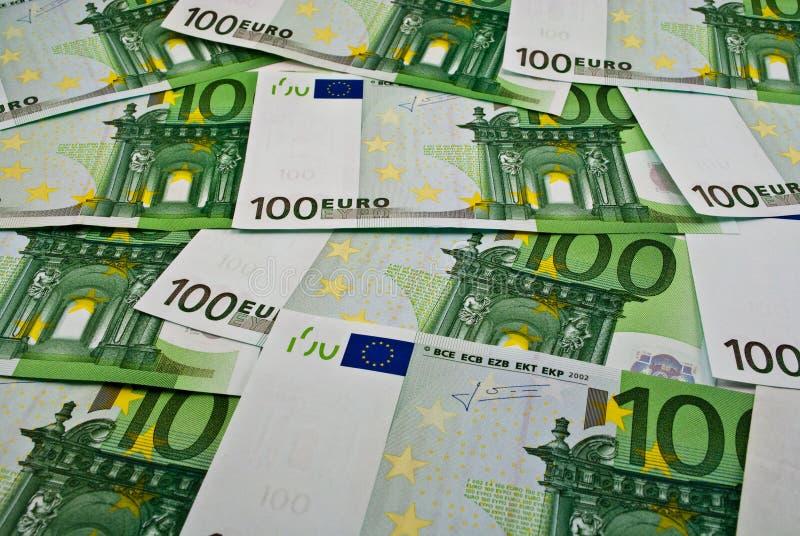 Euro soldi delle banconote immagine stock libera da diritti