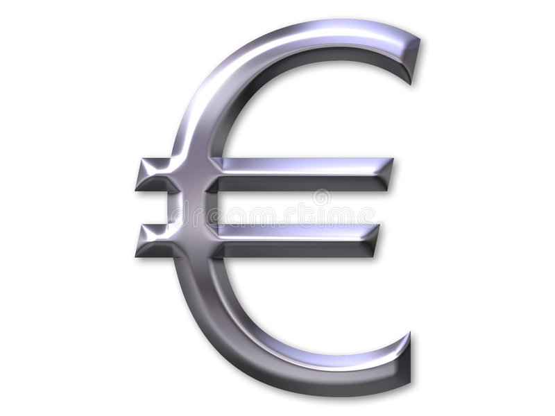 Download Euro symbol stock illustration. Illustration of deal, international - 156477