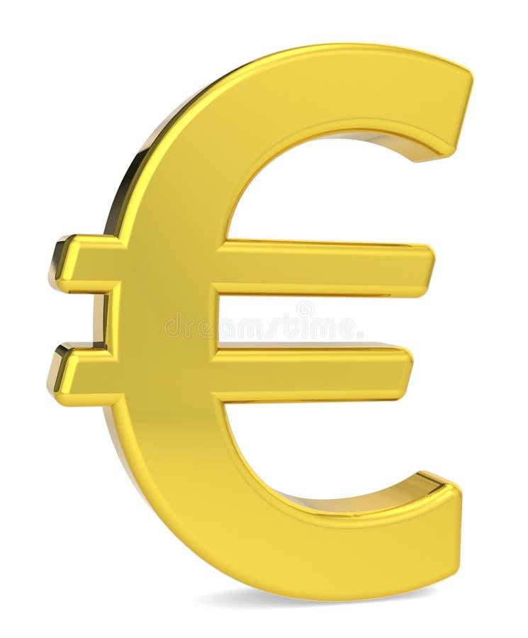 Euro symbol zdjęcie stock