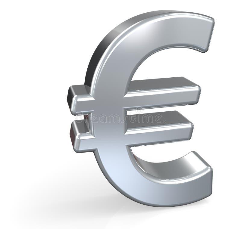 euro symbol royalty ilustracja