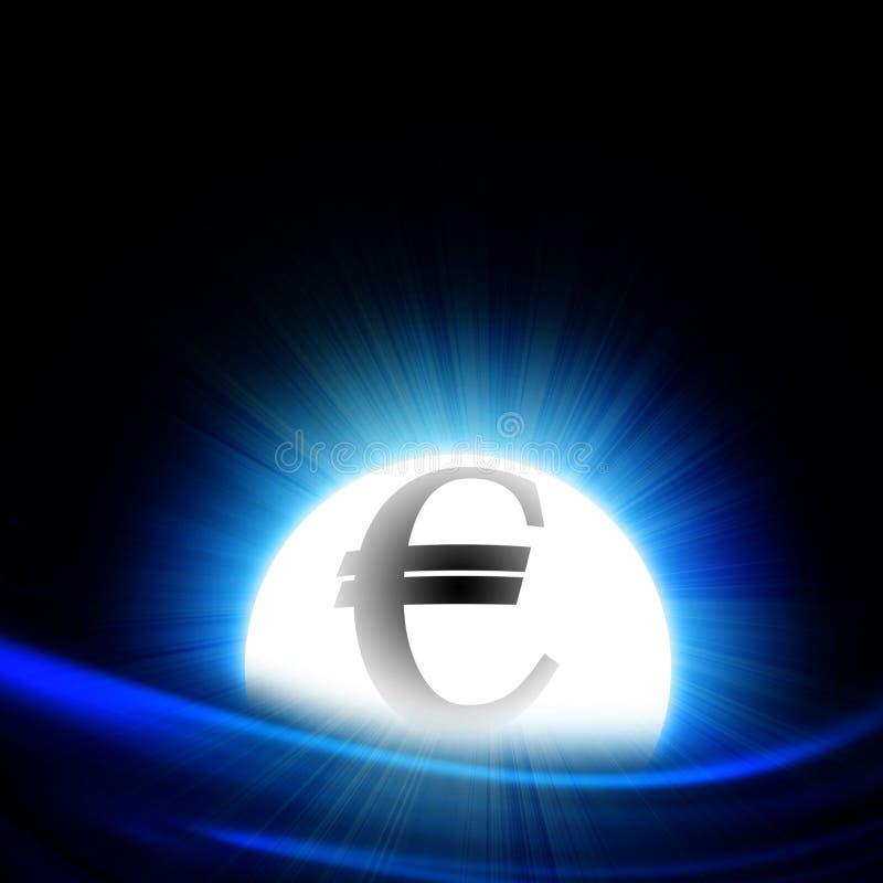 Euro symbol ilustracji