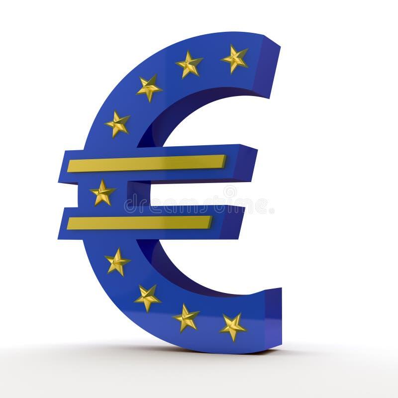 Euro symbol royalty free illustration