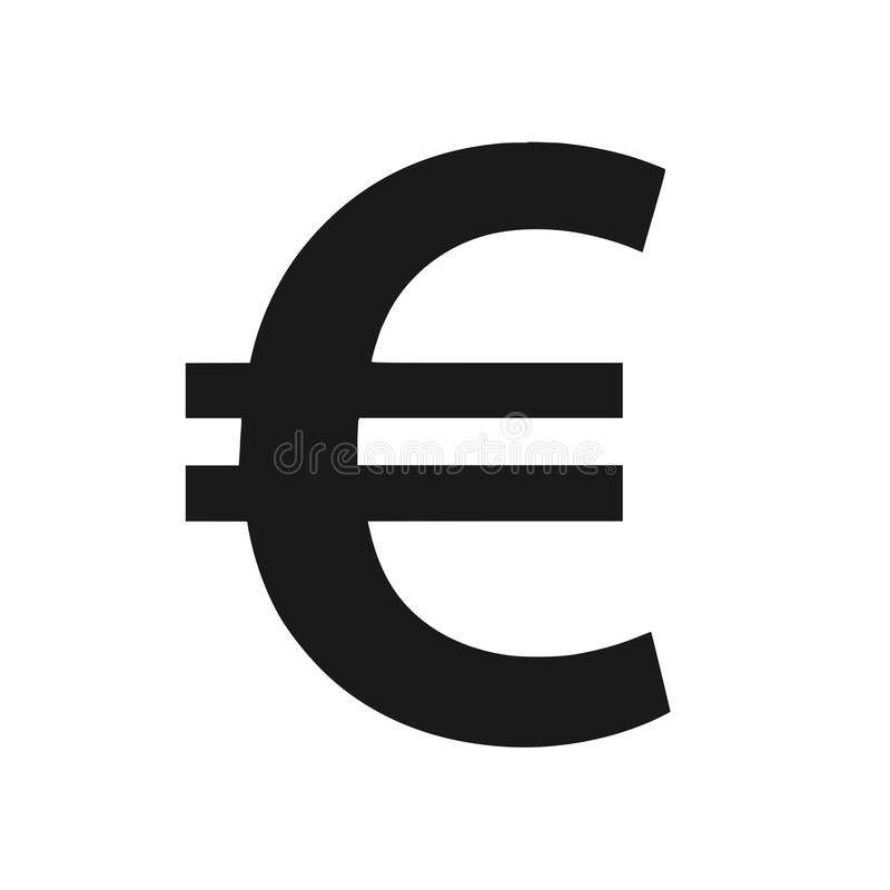Euro Symbol Isolated Png Stock Image Illustration Of Conversion