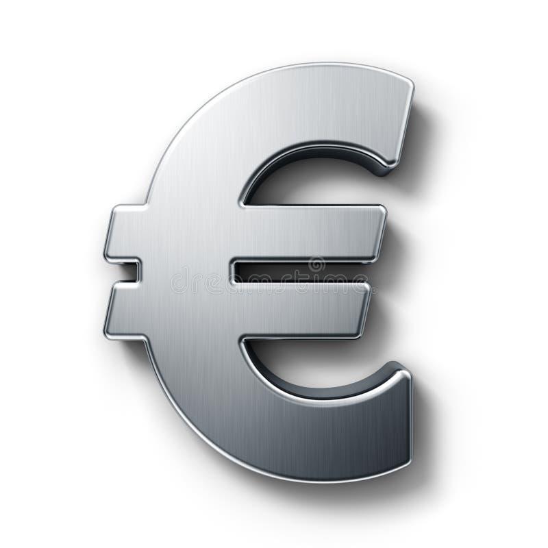 Euro teken stock illustratie