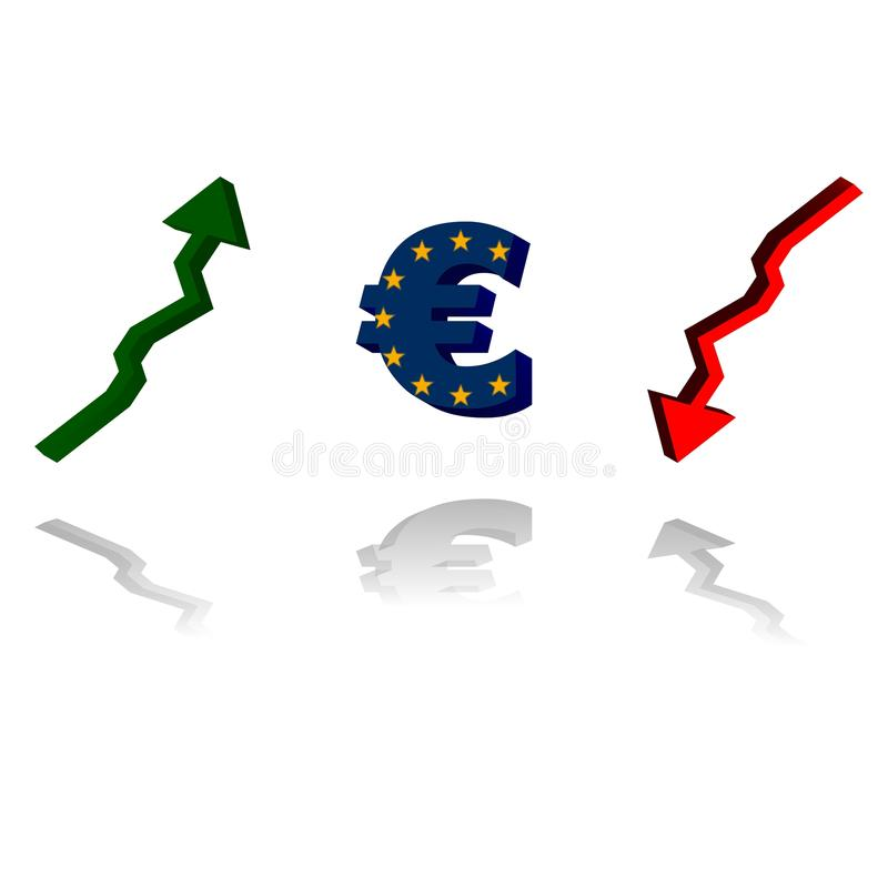 Euro trend stock images