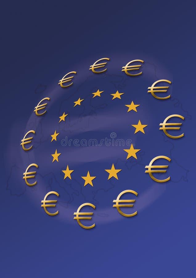 Euro type photos stock