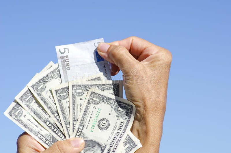 Download Euro And US Dollar Bank Notes III Stock Photography - Image: 23847332