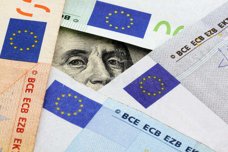 Download Euro vs dollars stock photo. Image of banknote, currency - 20797468