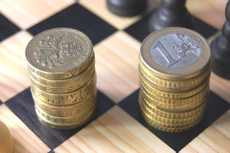 Download Euro vs pound stock image. Image of sign, concept, euro - 11315687