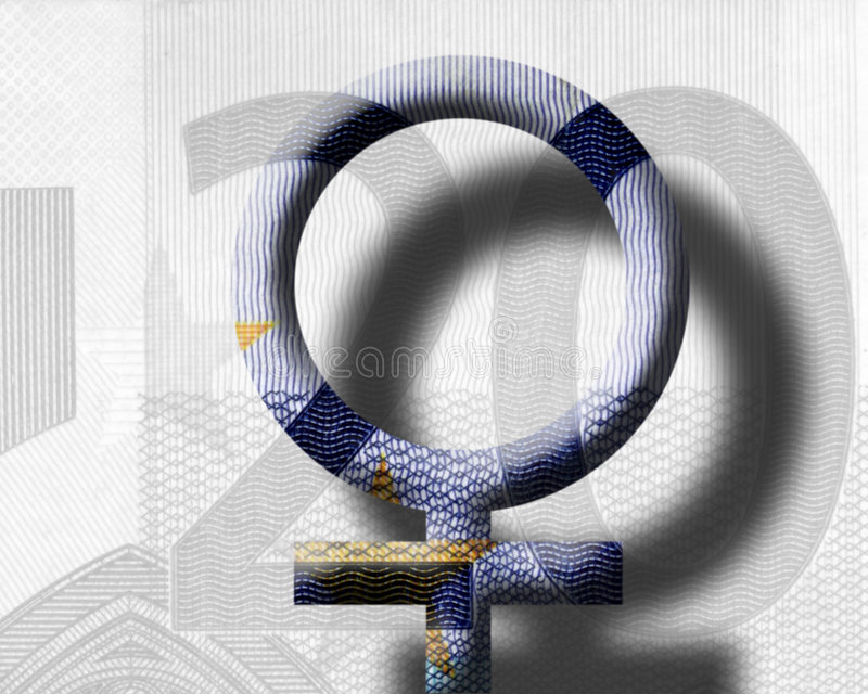 Download Euro women stock illustration. Image of symbol, finance - 177389
