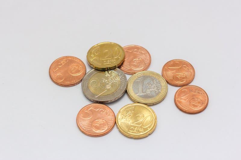 Euro zauważa pieniądze obrazy stock