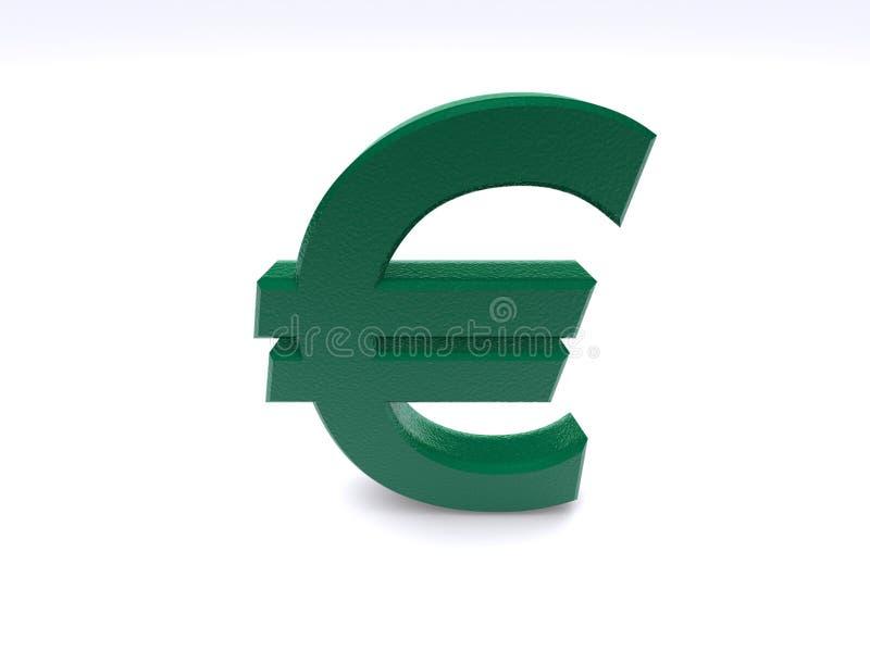 euro znak royalty ilustracja
