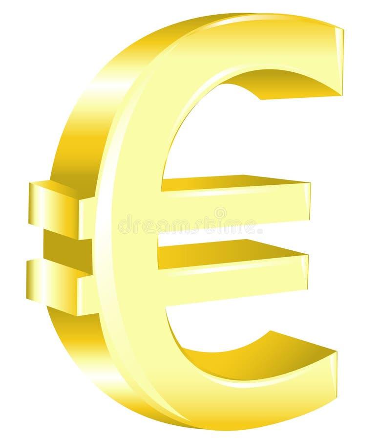 euro znaka wektor ilustracja wektor