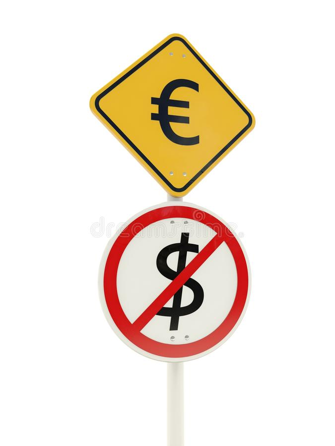 Download Euro Zone Road Sign Royalty Free Stock Photo - Image: 27112815