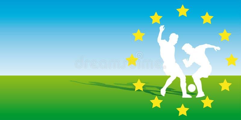 euro2008 vektor illustrationer