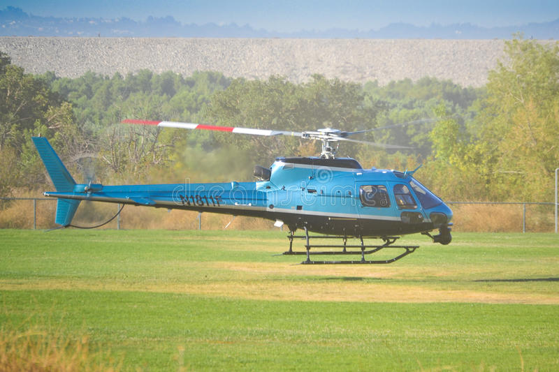 Eurocopter AS 350 B2 Editorial Stock Image