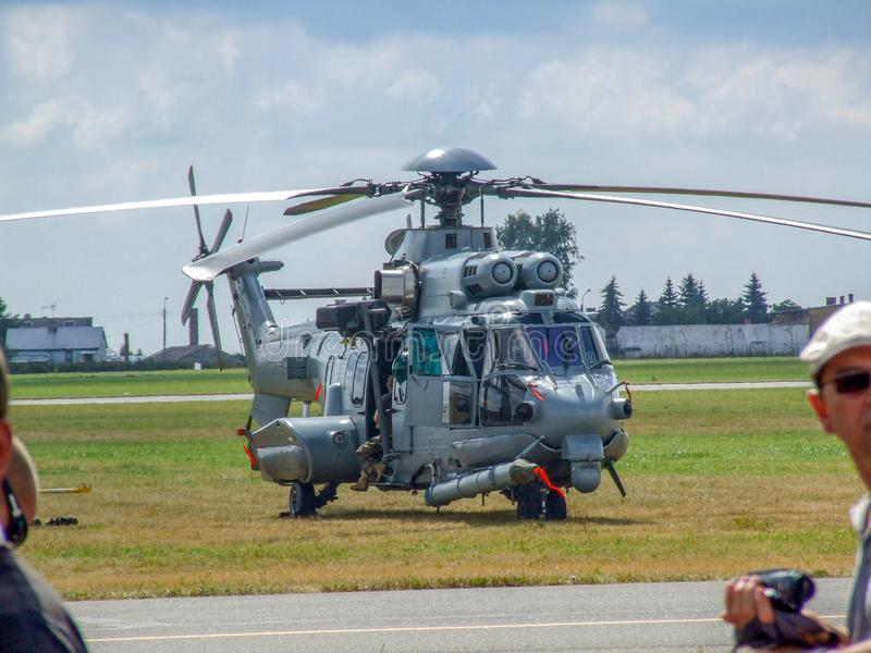Eurocopter de EG 725 militaire helikopter voor Pools leger royalty-vrije stock foto's