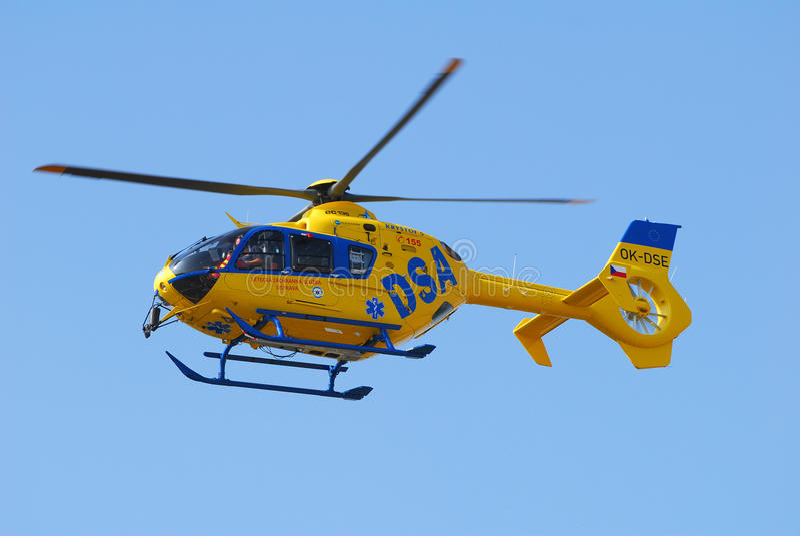 Eurocopter EC-135T2 стоковое фото