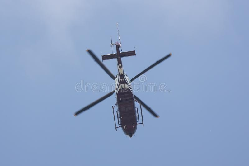2901 Eurocopter EC155B of Royal Thai Police Wing stock photography