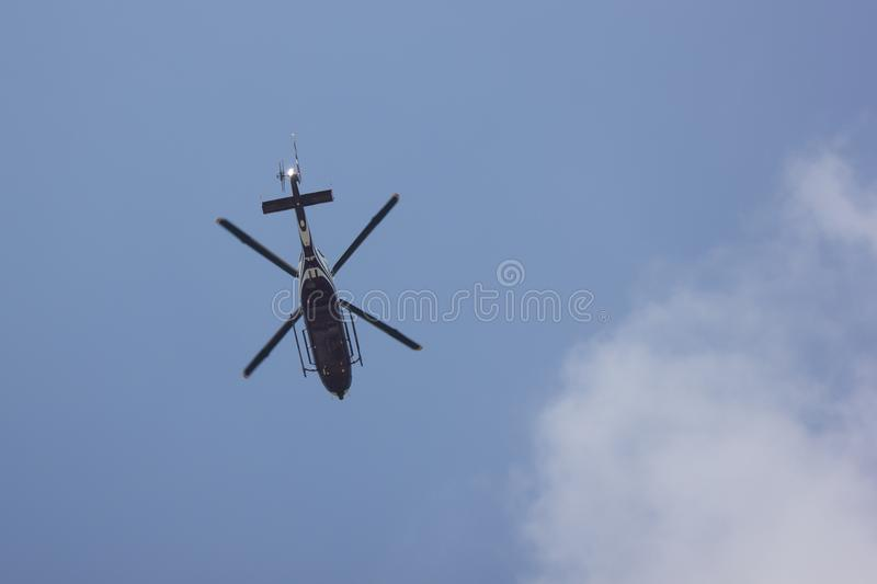 2901 Eurocopter EC155B of Royal Thai Police Wing royalty free stock images