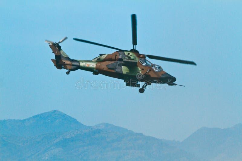 Eurocopter EC-665 tiger royaltyfria foton