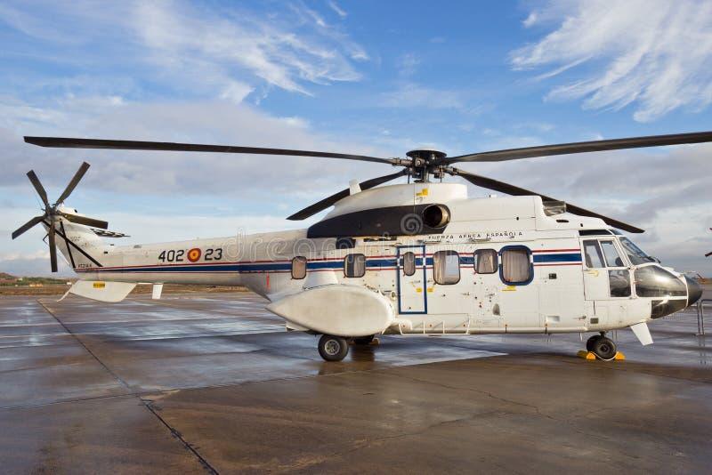 Eurocopter-Puma Promi-Hubschrauber lizenzfreie stockfotos