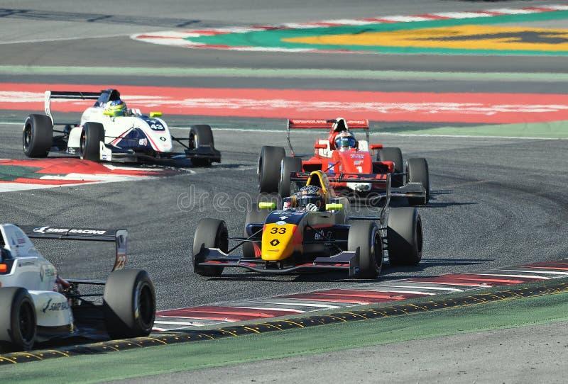 Eurocup Formula Renault 2.0 2017 royalty free stock photos