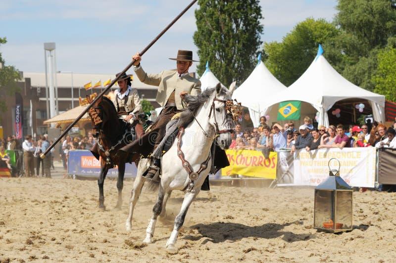 euroFeria Andaluza 2012 fotografia stock