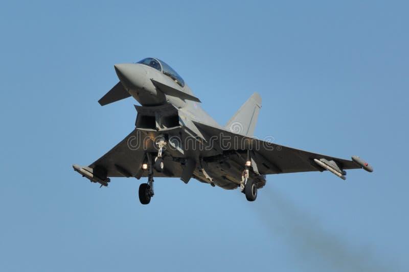 eurofighter τυφώνας στοκ εικόνα