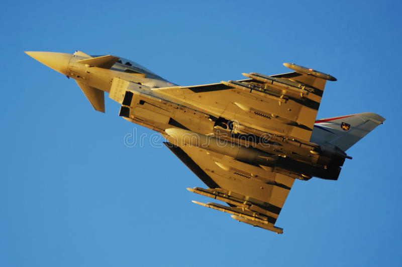 Eurofighter royalty free stock images