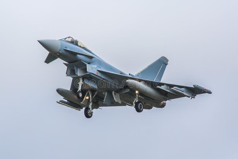 Eurofighter flygplan arkivfoton