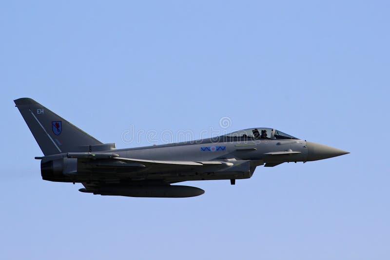 Eurofighter Tajfun fotografia stock