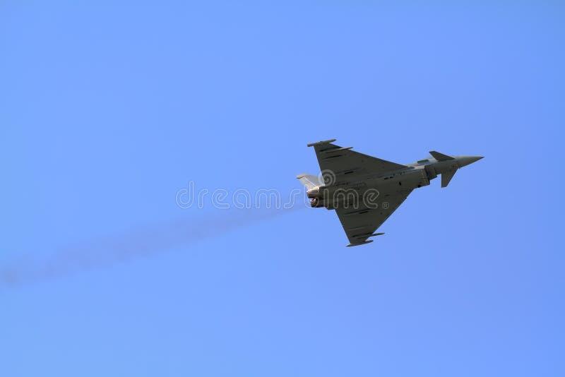 Eurofighter Typhoon royaltyfri bild