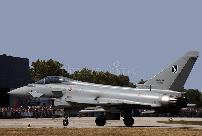 Eurofighter Typhoon-3 fotografia stock