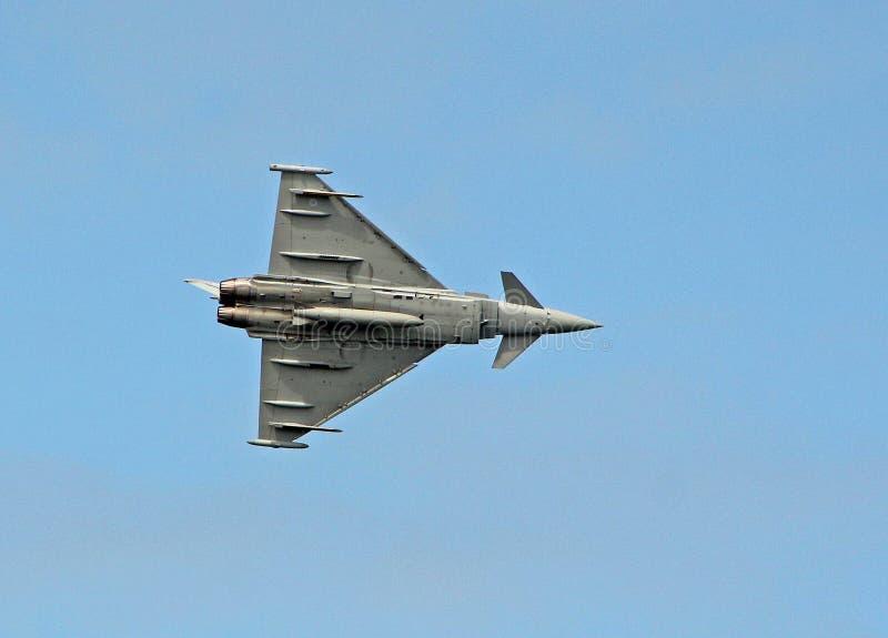 Eurofighter Typhoon royaltyfri fotografi