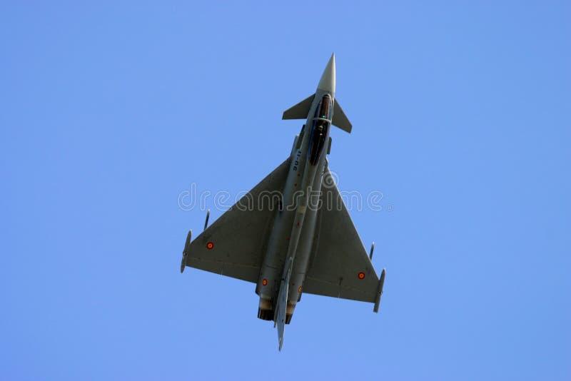 Eurofighter Typhoon au tatouage d'air de RAF Fairford image libre de droits