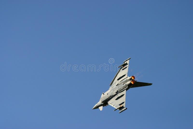 Eurofighter Typhoon au tatouage d'air de RAF Fairford photo libre de droits
