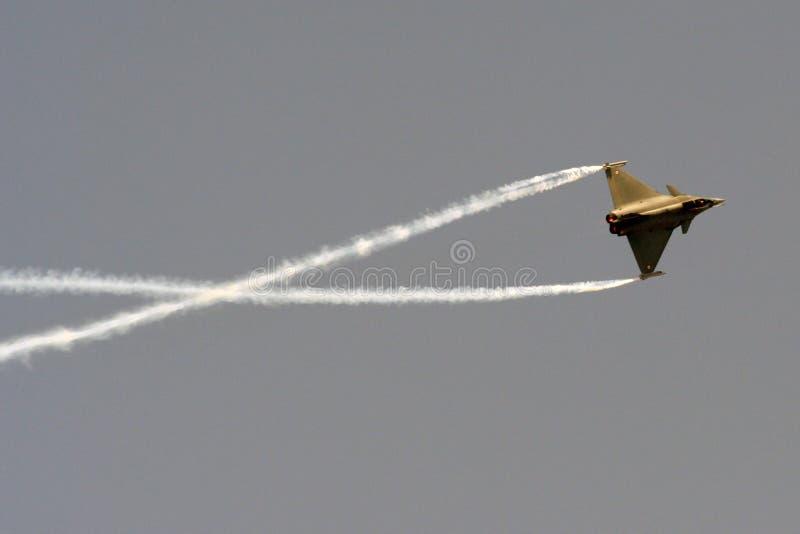 Eurofighter Typhoon Spins Royalty Free Stock Photos