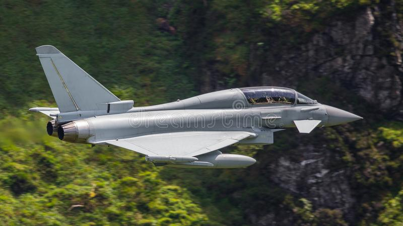 Eurofighter Typhoon strumień obraz royalty free