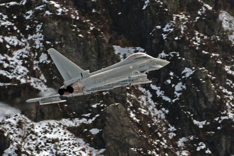 eurofighterf2-typhone royaltyfria bilder