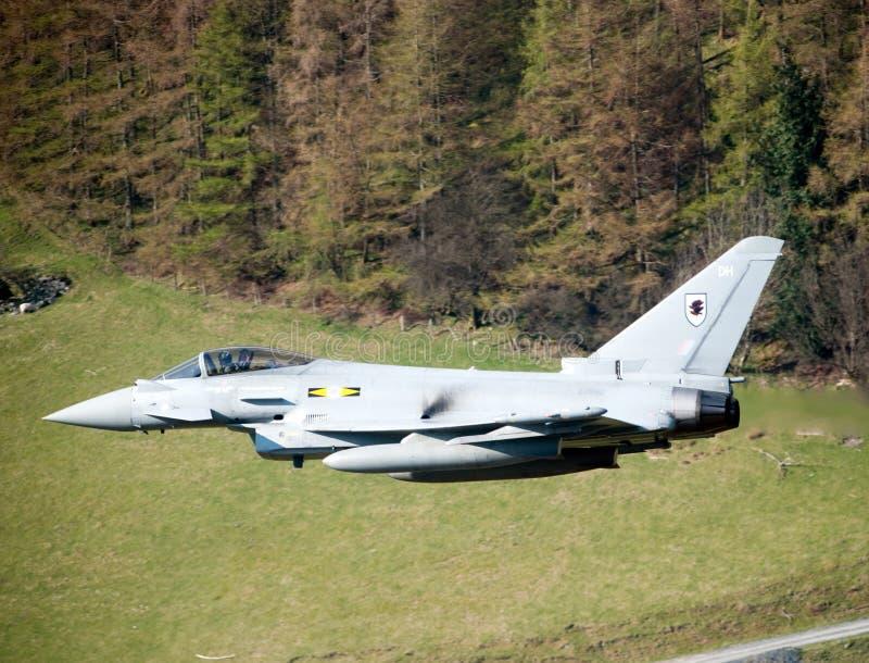 eurofighterf2-typhone royaltyfri bild