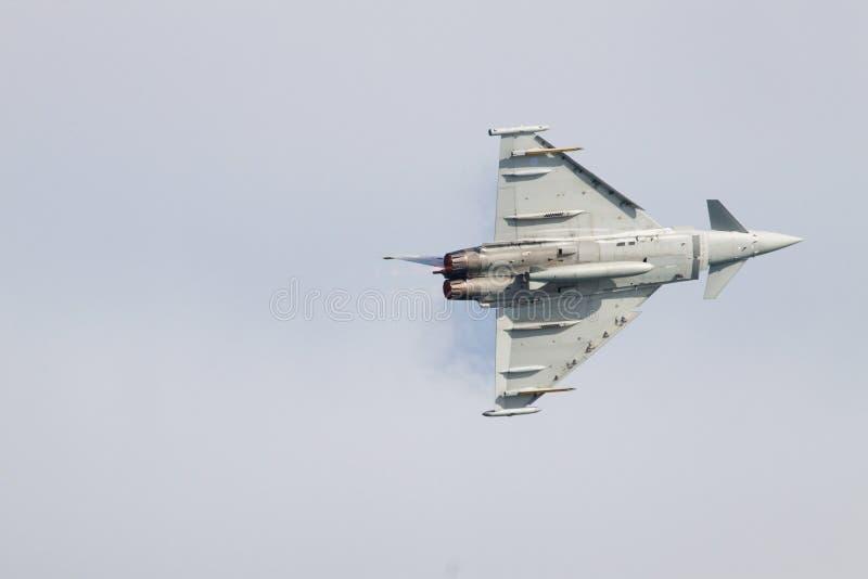 eurofightertyphoon arkivbild